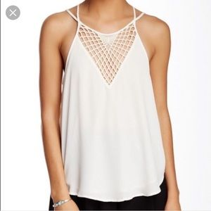 ASTR crochet blouse